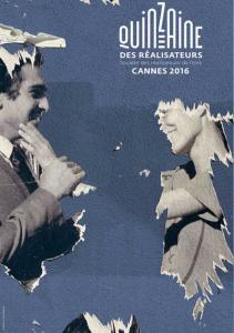 L'affiche de la quinzaine des réalisateurs 2016